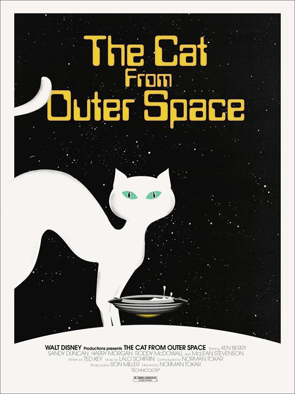 El gato que vino del espacio // Por Jay Shaw