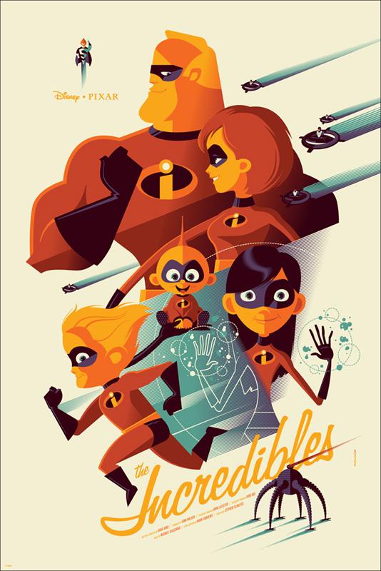 Los Increíbles // Por Tom Whalen