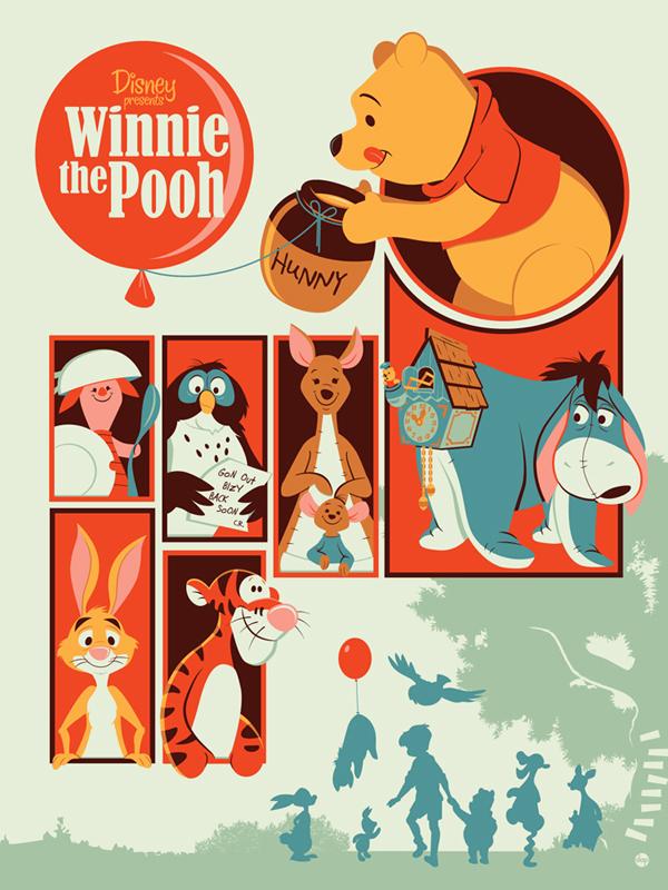 Winnie the Pooh // Por Dave Perillo