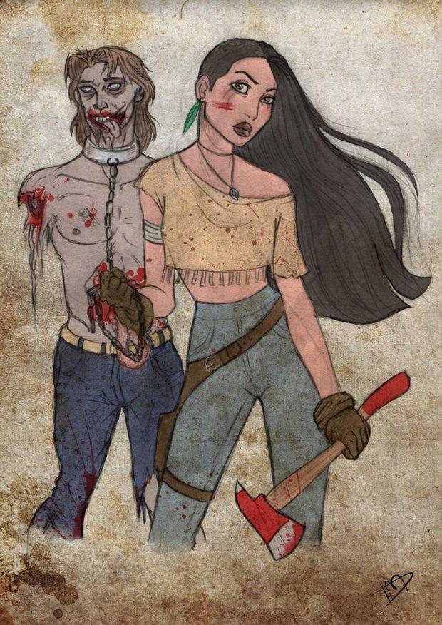 Pocahontas y Hohn