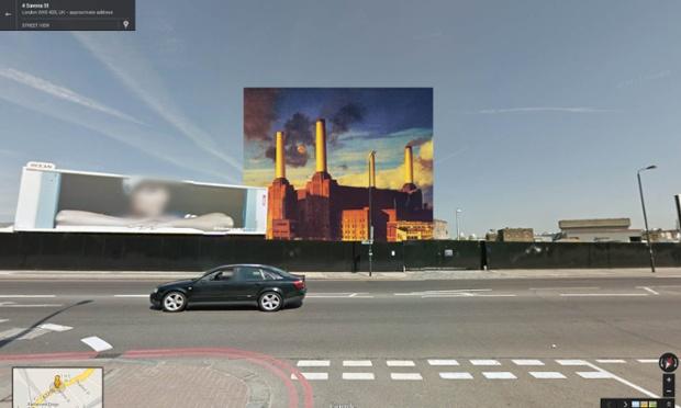 Animals por Pink Floyd, tomada en la Central Eléctrica en Wandsworth, Londrés.